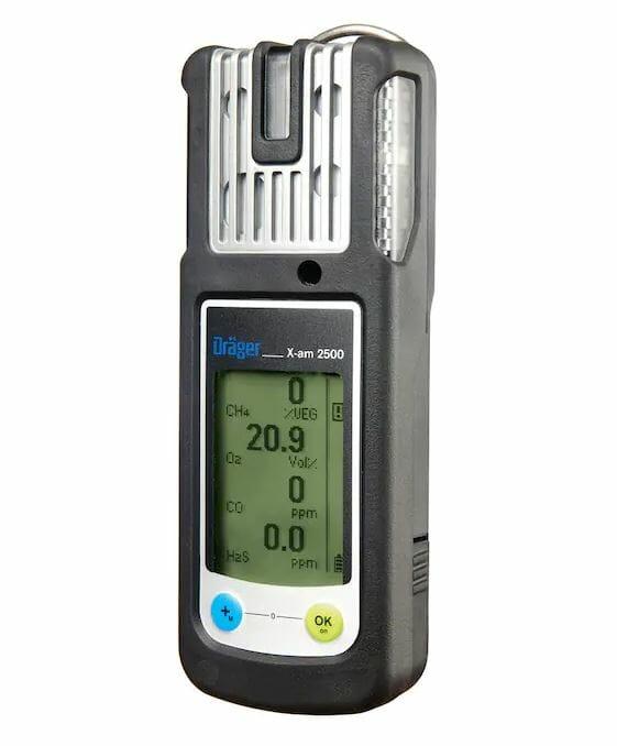 Dräger X-am® 2500 Višegasni Detektor