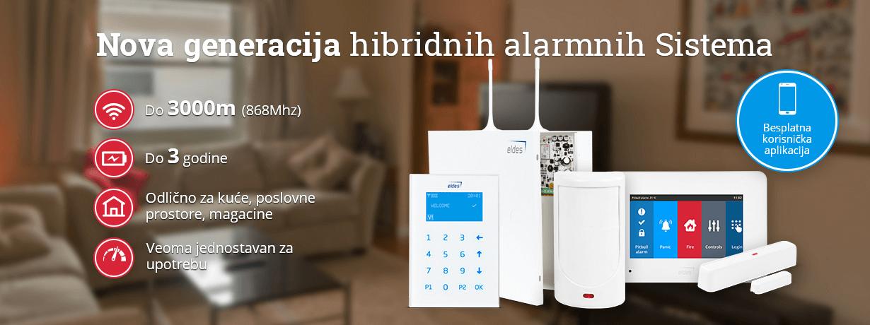 hibridni alarmni sistemi